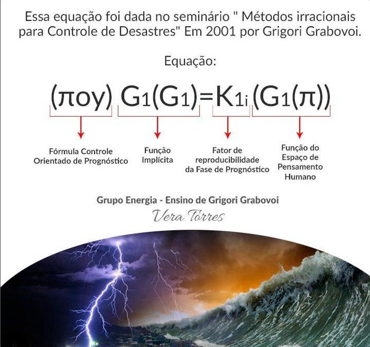 """""""Métodos irracionais para Controle de Desastres"""" por Grigori Grabovoi"""