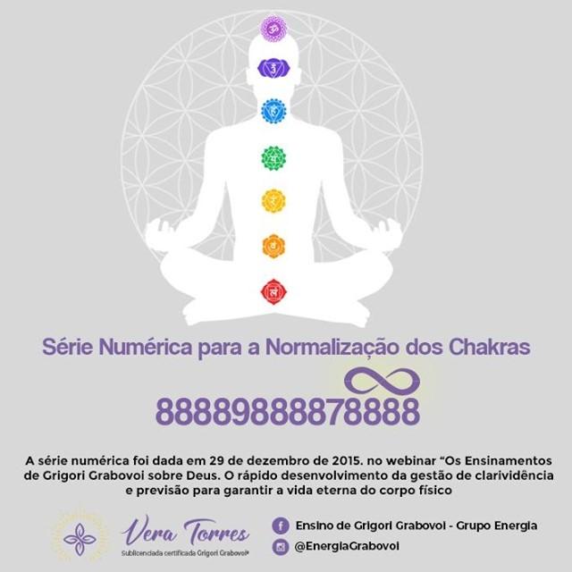 Vamos Normalizar os Chakras do Nosso Corpo Dentro do Desenvolvimento Eterno e Harmonioso