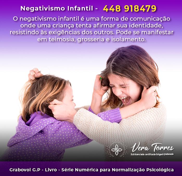 Negativismo Infantil